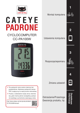 MODE - Cateye