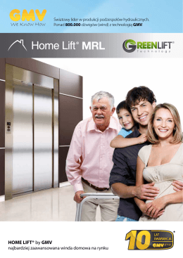 HOME LIFT® by GMV - GMV Polska Sp. z oo