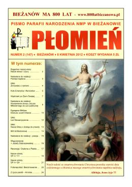 2/147 - Parafia Narodzenia NMP w Krakowie