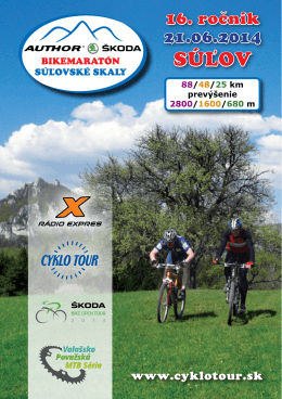 SÚLOV - Cyklotour