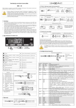Instrukcja serwisowa sterownika AR2-27