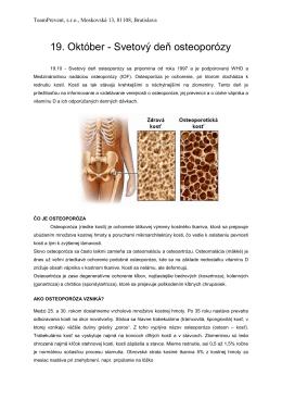 Osteoporóza - team