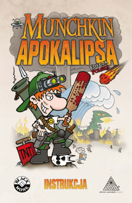 Munchkin Apokalipsa – Instrukcja