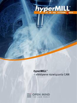 hyperMILL® – efektywne rozwiązania CAM