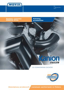 System rynnowy Kanion STAL - katalog