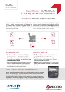 SmartScan - Skanowanie Staje Się SzybSze i łatwiejSze.