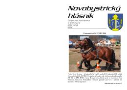Novobystrický hlásnik 04 (apríl)