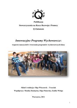 Innowacyjne Programy Wychowawcze: