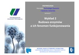 EnzymologiaTZ - wyklad 2.pdf - Centrum Bioimmobilizacji i