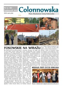 FOSOWSKIE NA WIRAŻU - Miasto i Gmina Kolonowskie