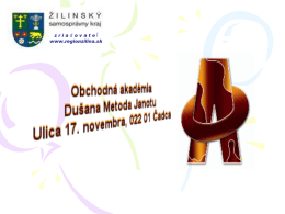 Obchodná akadémia D.M.Janotu Čadca