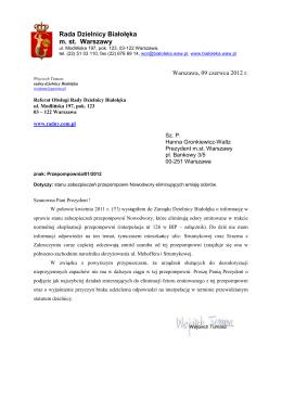 Rada Dzielnicy Białołęka m. st. Warszawy