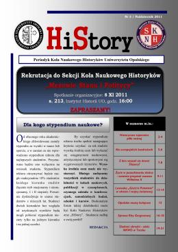 Pobierz numer - Instytut Historii Uniwersytetu Opolskiego