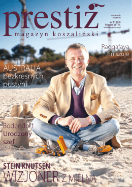 Stein KnutSen - Prestiz Magazyn Koszaliński