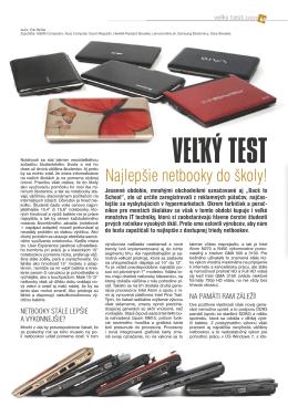 VEĽKÝ TEST - Pricemania.sk