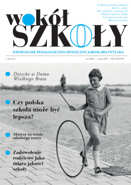 """""""Wokół szkoły"""" nr 1 2014"""