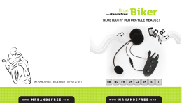 Biker BLUETOOTH® MOTORCYCLE HEADSET