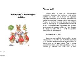 Starostlivost´ o zdrobnených králičkov