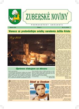 Zuberské noviny 5/2010 Formát PDF