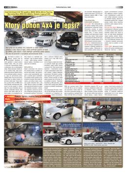 Ktorý pohon 4x4 je lepší? - Subaru