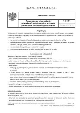 K-042/1 - Urząd Skarbowy w Jaworze