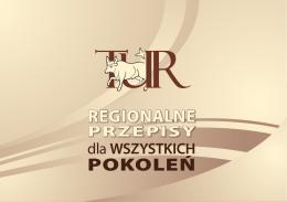 TUR - Regionalne przepisy dla wszystkich pokoleń