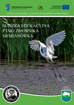 Ścieżka edukacyjna Ptaki Zbiornika Siemianówka