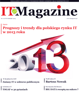 IT Magazine, luty 2013 / marzec 2013