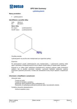 Cyklohexylamín