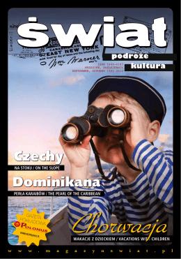 Więcej informacji - Magazyn Świat
