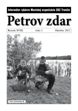 Petrov zdar 02/2013