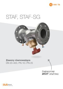 STAF, STAF-SG - IMI Hydronic Engineering