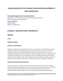 05 FMS 11 Kapitola Manažment aktív Správa majetku