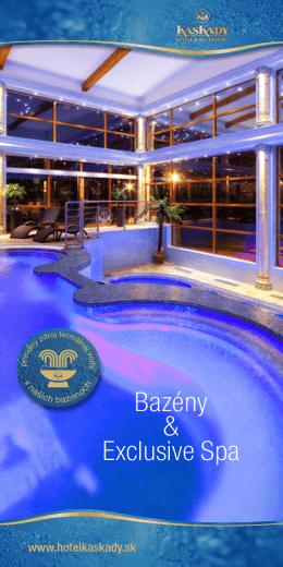 Cenník vstupov do Exclusive Spa (bazény & sauny)