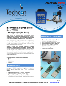 Pobierz katalog informacyjny TS9000