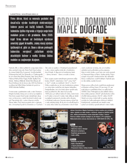 DDRUM DOMINION MAPLE DUOFADE