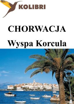 Chorwacja Wyspa Korcula