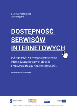 Dostępność serwisów internetowych – dobre