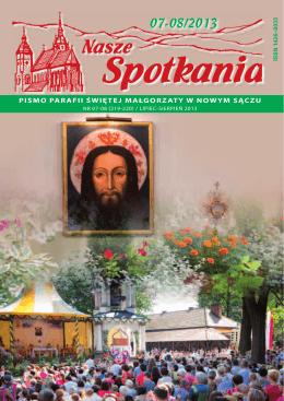 Nasze Spotkania 07-08_2013.pdf - Bazylika św. Małgorzaty w