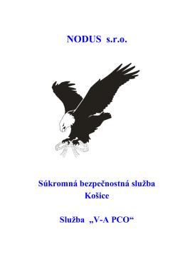 VA PCO - NODUS sro
