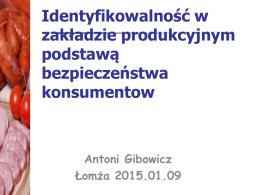 dr Krzysztof Gibowicz