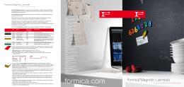 Formica ® Magnetic Laminate PDF