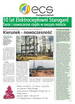 10 lat Elektrociepłowni Starogard