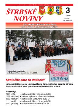 Štrbské noviny č. 3/2010 (PDF, 1.85 MB)