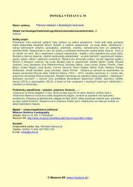 info-PDF - Muzeum.SK
