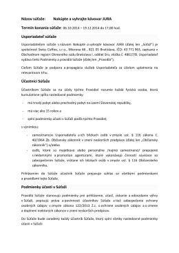 PDF - pravidlá súťaže na stiahnutie