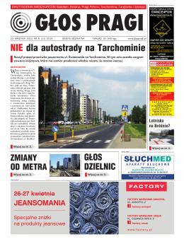 NIE dla autostrady na Tarchominie