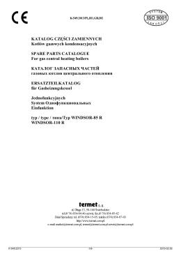 Termet - Katalog części zamiennych