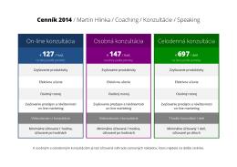 cenník konzultácii - Anglictinarychlo.sk