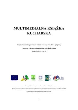 multimedialna książka kucharska - SZREK